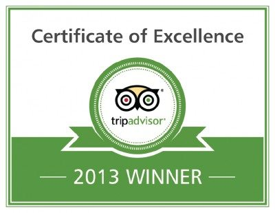 Mugilu, Homestay in Sakleshpur, Trip advisor certificate of excellence 2013