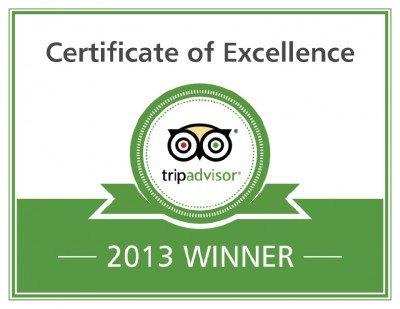 Mugilu, Homestay in Sakleshpur, Trip advisor certificate of excellence 2013