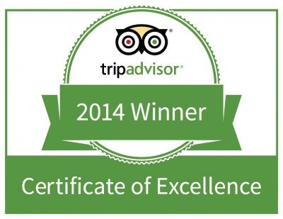 Mugilu, Homestay in Sakleshpur, Trip advisor certificate of excellence 2014